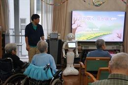 Robot 'thú cưng' mang lại niềm vui cho người cao tuổi Nhật Bản