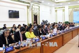 Trao đổi thông tin về cơ chế đặc thù phát triển TP Hồ Chí Minh và Đề án xây dựng thành phố thông minh