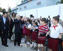 Tổng Bí thư Nguyễn Phú Trọng đến thăm trường Đại học Tổng hợp La Habana tại Cuba