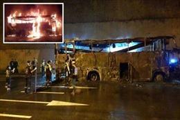 Tai nạn xe buýt nghiêm trọng tại Thái Lan