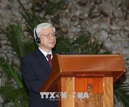 Tổng Bí thư Nguyễn Phú Trọng: Viết tiếp những trang mới của quan hệ Việt Nam – Cuba