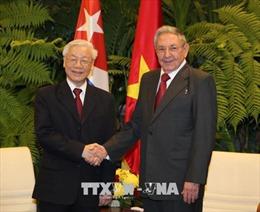 Điện cảm ơn của Tổng Bí thư Nguyễn Phú Trọng gửi đồng chí Raul Castro Ruz