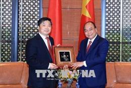 Hội nghị GMS6 - CLV10: Thủ tướng Nguyễn Xuân Phúc tiếp lãnh đạo các địa phương Trung Quốc