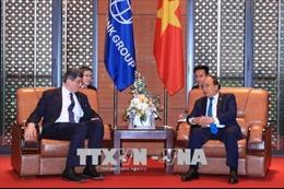 Thủ tướng Nguyễn Xuân Phúc tiếp Tổng Giám đốc điều hành Ngân hàng Thế giới