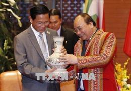 Hội nghị GMS6-CLV10: Thủ tướng Nguyễn Xuân Phúc tiếp Phó Tổng thống Myanmar