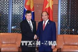 Hội nghị GMS6 – CLV10: Thủ tướng Nguyễn Xuân Phúc tiếp Tổng thư ký ASEAN