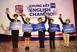 Dùng kỹ năng tranh biện, hùng biện để vô địch cuộc thi English Champion 2018