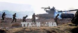 Quân đội Nga diễn tập bắn đạn thật tại Armenia