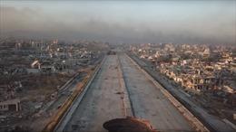 Syria: Sạch bóng phiến quân, Đông Ghouta hoang tàn như 'ngày tận thế'