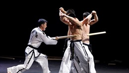Hai miền Triều Tiên biểu diễn taekwondo chung lần đầu tiên tại thủ đô Bình Nhưỡng
