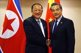 Bộ trưởng Ngoại giao Triều Tiên Ri Yong Ho thăm Trung Quốc