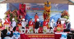 Khởi công dự án điện mặt trời và điện gió 100MW tại Bình Định