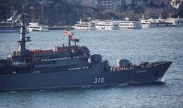 Tàu chiến Nga tiến vào 'trái tim châu Âu' khi căng thẳng Nga-phương Tây leo thang