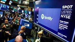 Ứng dụng nghe nhạc Spotify tạo 'cơn địa chấn' ngay trong phiên chào Sàn chứng khoán New York