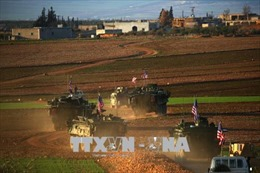Mỹ thiết lập các căn cứ ở Manbij thuộc Syria