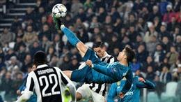 Xem Cristiano Ronaldo rực sáng trên 'sàn diễn' lượt đi tứ kết Champions League