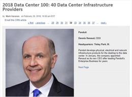 Panduit được vinh danh trong Top 100 Trung tâm dữ liệu do CRN bình chọn