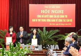 Thứ trưởng Đào Hồng Lan được luân chuyển làm Phó Bí thư Tỉnh ủy Bắc Ninh