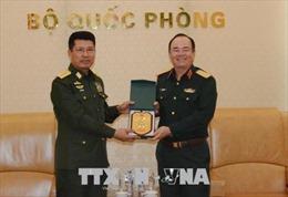 Thượng tướng Phạm Ngọc Minh tiếp Tư lệnh Lực lượng Phòng không Myanmar
