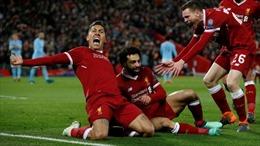 Salah tỏa sáng, Liverpool nhấn chìm Man City chỉ trong 19 phút