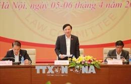 Khai mạc Phiên họp toàn thể lần thứ 11 Ủy ban Pháp luật của Quốc hội
