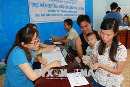 Bình Phước: Giải quyết việc Công ty Sam Sung Fishing Net nợ lương công nhân