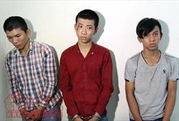 Băng thiếu niên nghiện game bắn cá gây ra 9 vụ cướp xe máy ở vùng ven