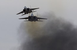 Nga xác định F-15 Israel đã dội tên lửa vào căn cứ không quân Syria