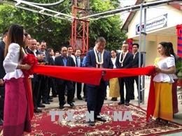 Campuchia khánh thành đài phát sóng truyền hình tỉnh do Việt Nam tài trợ