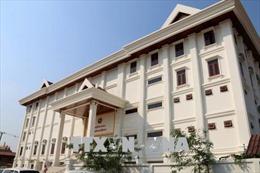 Bàn giao Tòa nhà trụ sở Đoàn Văn công quân đội Lào, quà tặng của Bộ Quốc phòng Việt Nam