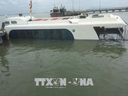 Tổng kiểm tra tàu khách sau sự cố chìm tàu ở Cần Giờ