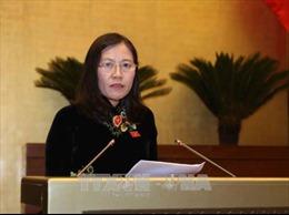 Thẩm tra các báo cáo của cơ quan tư pháp chuẩn bị cho kỳ họp Quốc hội