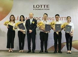 Tập đoàn LOTTE trao học bổng cho sinh viên TP.Hồ Chí Minh