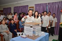 Cộng đồng Việt kiều tại Campuchia hướng về biển đảo quê hương