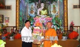 Đồng bào Khmer vui Tết Chôl Chnăm Thmây
