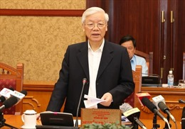Bộ Chính trị họp cho ý kiến về các đề án trình Hội nghị Trung ương 7 và kỷ luật cán bộ