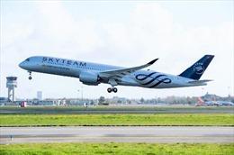 Vietnam Airlines nhận bàn giao máy bay A350 thứ 12