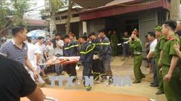 Sạt lở đất khi xây bờ kè, 4 người bị vùi lấp tại thành phố Lào Cai