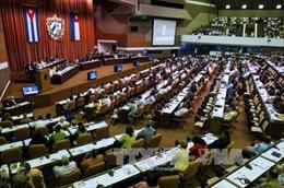 Cuba tiến hành sớm phiên họp đầu tiên Quốc hội khóa IX
