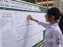 Hà Nội tăng chỉ tiêu tuyển sinh vào lớp 10
