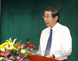 Phổ biến Bộ luật Hình sự và Bộ luật Tố tụng hình sự năm 2015 đến cán bộ ngành Nội chính Đảng