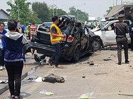 Thái Lan: Tai nạn giao thông tăng mạnh trong dịp Tết Songkran