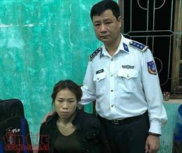 Cụm đặc nhiệm phòng chống tội phạm ma túy bắt giữ đối tượng vận chuyển 3kg ma túy đá