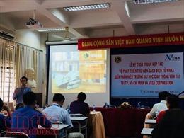 Lần đầu tiên mang sách điện tử đến với sinh viên TP Hồ Chí Minh
