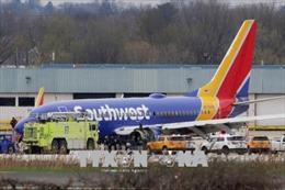 Mỹ và nhiều nước ban bố lệnh kiểm tra động cơ máy bay Boeing 737