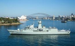 Đoàn tàu Hải quân Hoàng gia Australia thăm TP Hồ Chí Minh