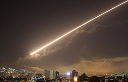 Syria nộp 2 tên lửa hành trình 'tịt ngòi' trong vụ tấn công 14/4 cho Nga