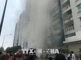 Vụ cháy Chung cư Carina Plaza: Nạn nhân hôn mê sâu, tổn thương não được xuất viện