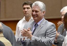 Tân Chủ tịch Cuba M. Diaz-Canel cam kết tiếp nối di sản Cách mạng