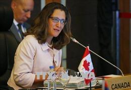 Canada, EU đồng tổ chức Hội nghị nữ Bộ trưởng Ngoại giao toàn thế giới